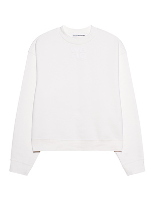 T BY ALEXANDER WANG Puff Paint Logo Off-White