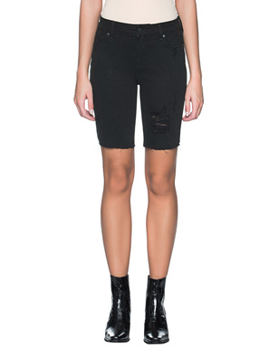 PAIGE Jax Night Rider Destructed Black