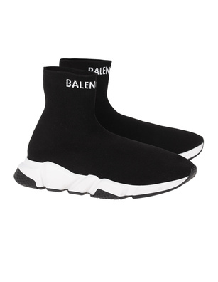 BALENCIAGA  Speed Top Logo Black