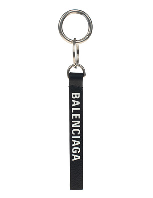 BALENCIAGA Key Ring Silver