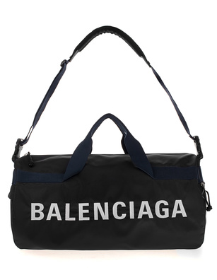 BALENCIAGA Gym Logo Black