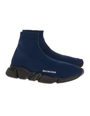 BALENCIAGA Speed LT Black Sole Dark Navy