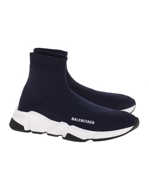 BALENCIAGA  Speed LT Sole Bicolor Navy