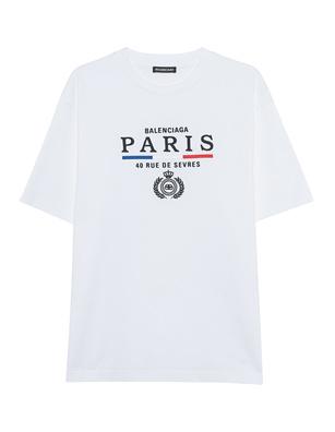 BALENCIAGA Regular Paris White
