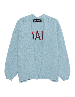 PAUL X CLAIRE Oversize Open Stitching Light Blue