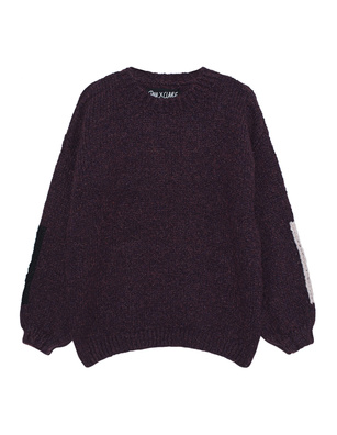 PAUL X CLAIRE Yes No Chunky Knit Grey