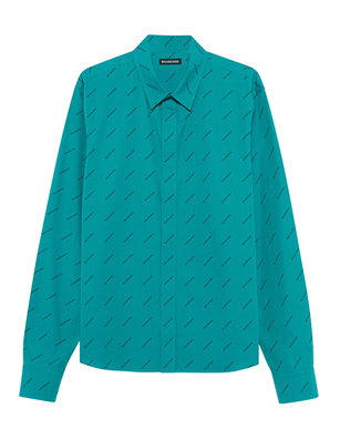 BALENCIAGA Fitted Key MB Turquoise