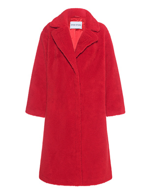 STAND STUDIO Oversize Teddy Maria Red