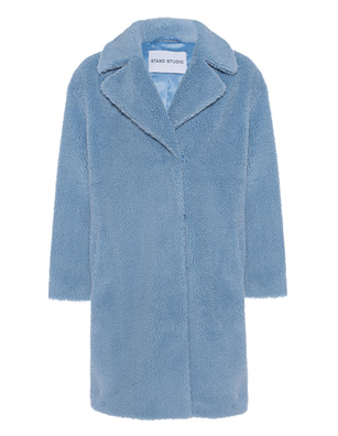 STAND STUDIO Fake Fur Camille Sky Blue