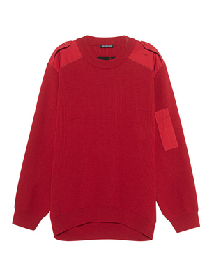 BALENCIAGA  Logo Back MB Key Red