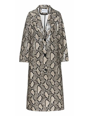 STAND STUDIO Mollie Faux Fur Shiny Snake