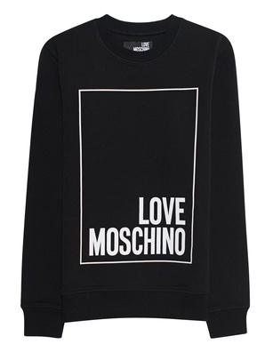 LOVE Moschino Logo Square Black