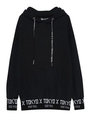 PAUL X CLAIRE X Hoodie Tokyo Black