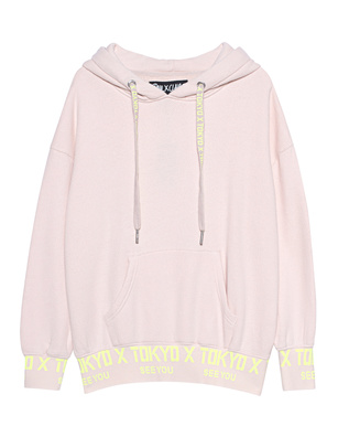 PAUL X CLAIRE X Hoodie Tokyo Silver Peony Nude
