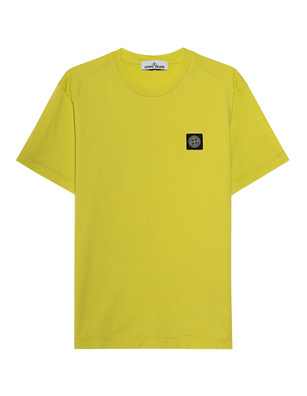 STONE ISLAND Small Logo Lemon Yellow