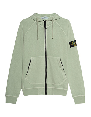 STONE ISLAND Zip Dyed Logo Patch Green
