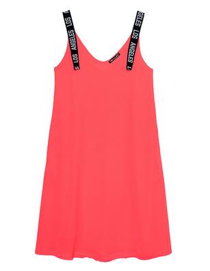 PAUL X CLAIRE Los Angeles Straps Dress Coral