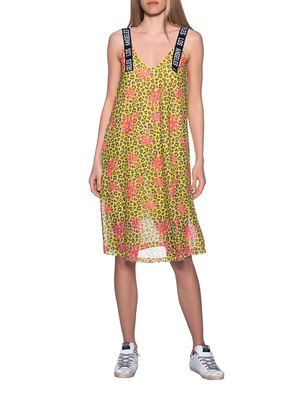 PAUL X CLAIRE Leo Dress Flower Yellow