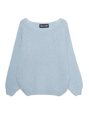 PAUL X CLAIRE Oversize Chunky Light Blue