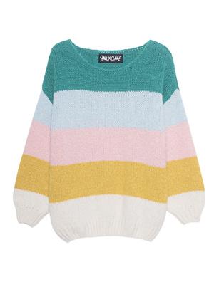PAUL X CLAIRE Knit Striped Multicolor