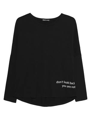 PAUL X CLAIRE Dont Look Back Sleeve Black