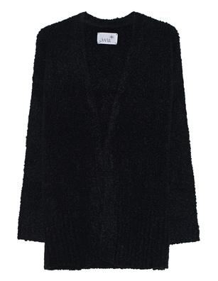 JUVIA Bouclé Knit Black