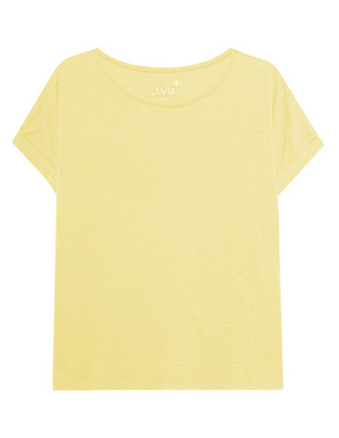 JUVIA Crew Neck Boxy Lemon