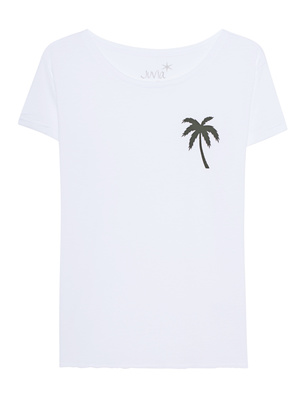 JUVIA Crew Palm White