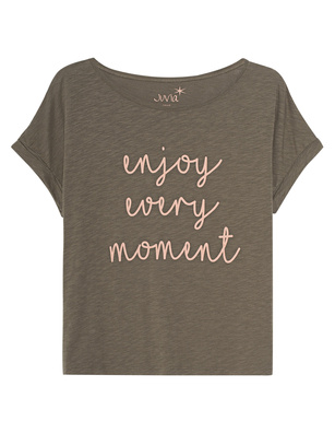 JUVIA Enjoy Every Moment Khaki