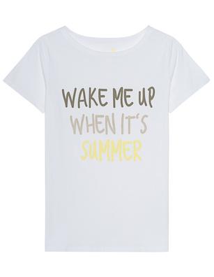 JUVIA Wake Me Up When Its Summer White