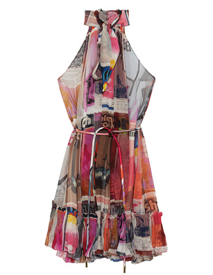 ZIMMERMANN Wavelength Print Halterneck Multicolor