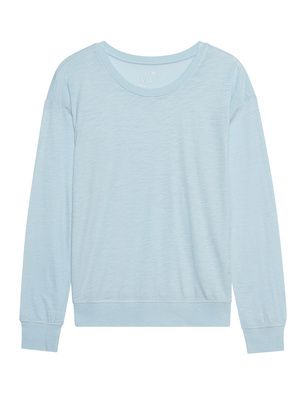 JUVIA Long Seam Crew Light Blue