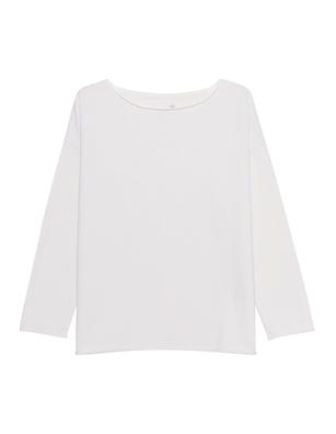 JUVIA Crewneck Oversize Off-White