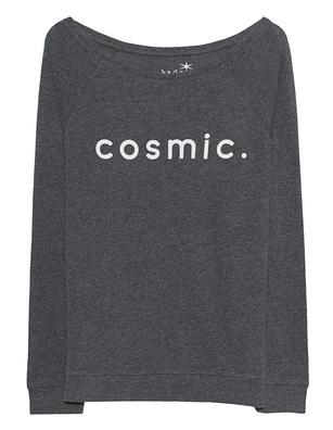 JUVIA Cosmic Print Anthracite