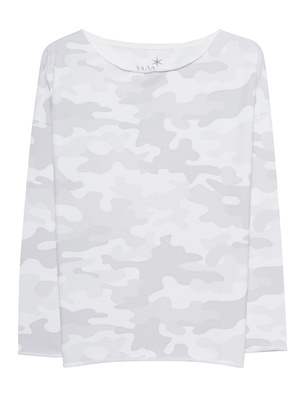 JUVIA Sweater Camo Grey