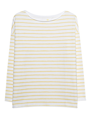 JUVIA Sweater Stripes Vanilla White