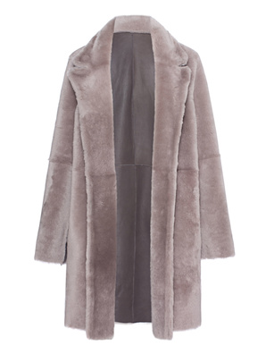 SLY 010 Coat Fur Grey