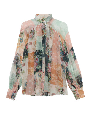 ZIMMERMANN Wavelength Patchwork Multicolor