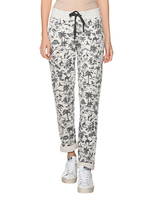 JUVIA Devore Casablanca Palms Off White