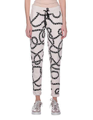 JUVIA Cable Pattern Ecru Off-White