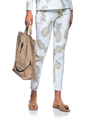JUVIA Jogging Ananas Yellow White