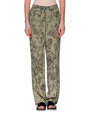 JUVIA Wide Pants Olive