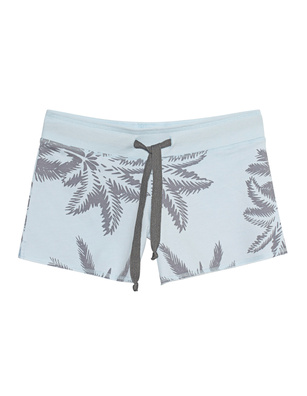 JUVIA Shorts Palm Light Blue