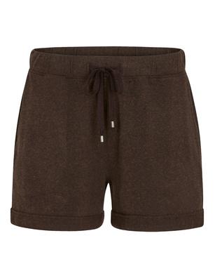 JUVIA Modal Jersey Shorts Espresso
