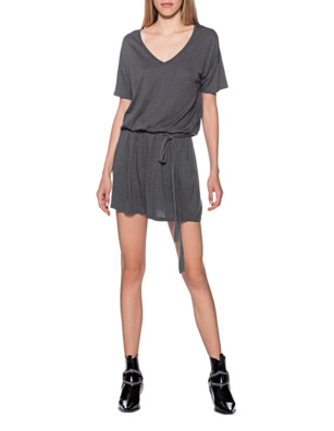 JUVIA Belted Short Anthracite