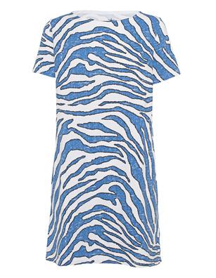 JUVIA Sweat Zebra White Blue