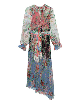 ZIMMERMANN Bellitude Patchwork Multicolor