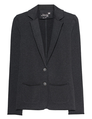 JUVIA Fleece Blazer Anthracite