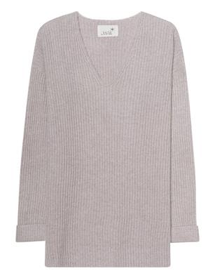 JUVIA V Neck Cashmere Grey