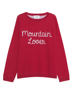 JUVIA D-PULLOVER STRICK MOUNTAIN LOVER